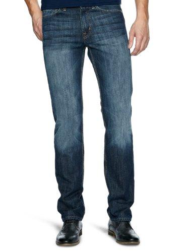 7 For All Mankind SMSJ840NY Slim Men's Jeans New York Dark W34 INxL33 IN