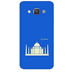 Skin4gadgets Iconic Wonder Taj Mahal Colour - Blue Phone Skin for SAMSUNG GALAXY A3