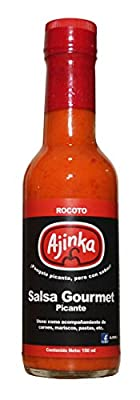 Ajinka Peruvian Rocoto Pepper Sauce (Hot) 150 ml from Ajinka