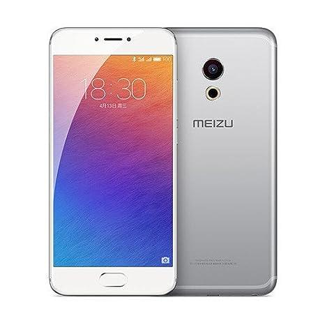 Meizu Pro 6 à 5,2 pouces AMOLED smartphone à écran 2.5GHz processeur Helio X25 21 MP appareil photo 4GB RAM 32GB ROM empreinte blanche