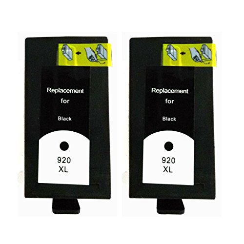 Hp 920Xl(Black) Ink Cartridge For Hp Officejet 6000 Wireless Printer - Pack Of 2 - Premium Bavvo® Remanufactured Product