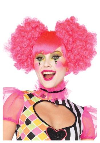 Pink Harlequin Wig (Standard)