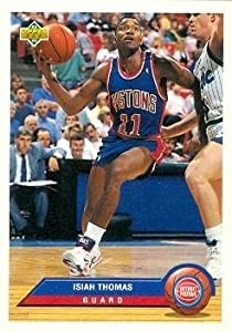 Isiah Thomas Basketball Card (Detroit Pistons) 1993 Upper Deck #P12 by Hall of Fame Memorabilia