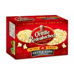 Orville Redenbacher's Gourmet Microwavable Popcorn, Kettle Korn Mini Bag, 4-Count Boxes (Pack of 12) (Orville Redenbacher Popcorn Salty compare prices)