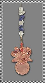 Pink Crystal Suncatcher