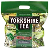 Yorkshire Tea Hard Water Catering (Pack of 1, Total 480 Bags)