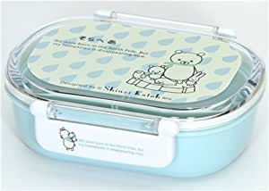 cute blue polar bears bento box lunch box kawaii amazon. Black Bedroom Furniture Sets. Home Design Ideas