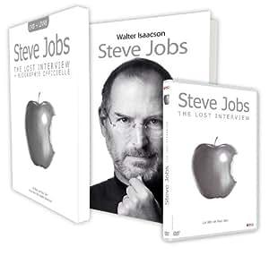 Coffret Steve Jobs, The lost interview + Biographie Officielle - Edition limitée [+ 1 Livre]
