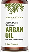 Aria Starr Beauty ORGANIC Argan Oil F…