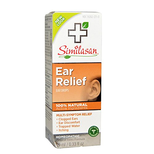 Similasan Ear Relief Ear Drops, 0.33 Ounce Bottle