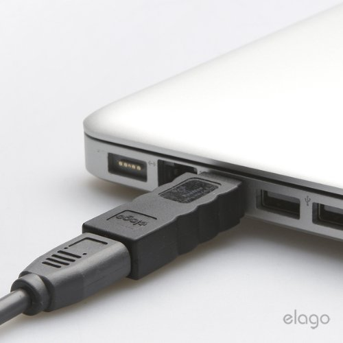 how to connect firewire 400 to macbook air