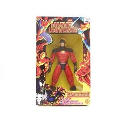 "Captain Marvel 10"" Marvel Universe (Yellow Box) Poseable Action Figure"