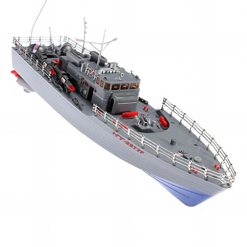 Maxsale Hengtai Ht-2877F 4Ch Infrared Rc War Battle Ship With Gyro