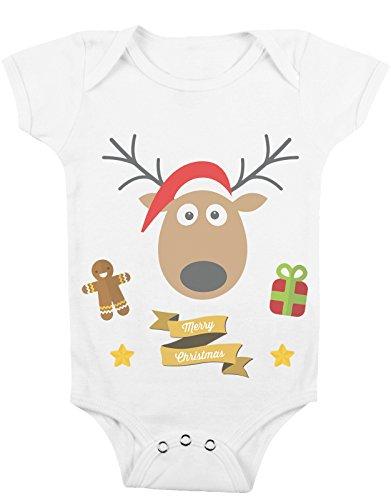 Body da neonato Buon Natale dalle renne! - Da 3 a 24 mesi by tshirteria
