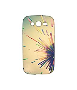 Vogueshell Straws Printed Symmetry PRO Series Hard Back Case for Samsung Galaxy Grand Neo
