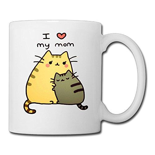 I Love My Mom Pusheen Coffee Mug