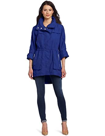 G.E.T. Women's Anorak Jacket, Neon Royal, X-Small