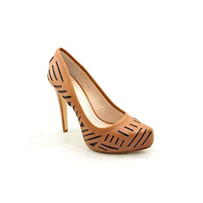 BCBGeneration Women's Prague Pump - Tan-Black