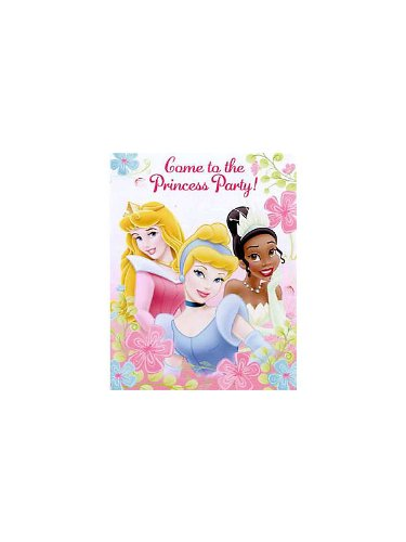 Disneys Fanciful Princess Invitations - 1