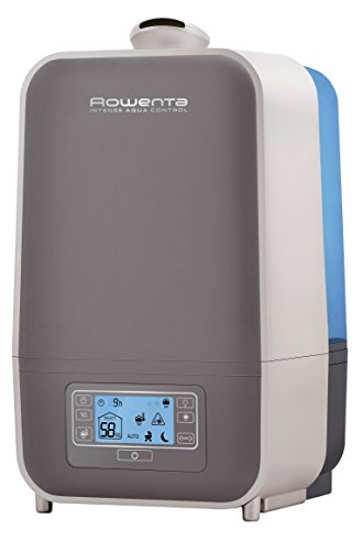 Rowenta HU5120 Intense Aqua Control Whole Room Mist Humidifier Ultrasonic Technology with Unique Baby Mode, 1.5-Gal, Bronze - 1
