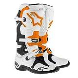 Alpinestars Tech 10 Men's Dirt Bike Motorcycle Boots - Orange / Size 8 (Color: Orange, Tamaño: 8)