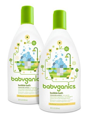 Babyganics 儿童泡泡沐浴露,马鞭草香型 591ml*2瓶图片