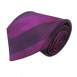 Rossini Men's Tie (UFAM12_Purple_Free Size)
