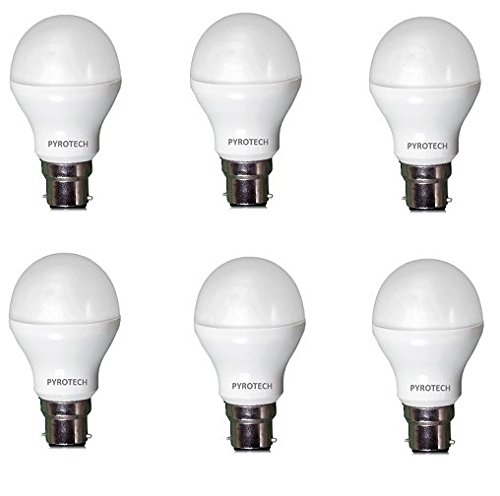 Pyrotech-12W-LED-Bulb-(Cool-White,-Pack-of-6)