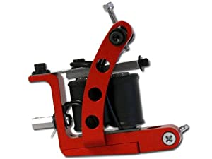 Red Swingate Liner Tattoo Machine