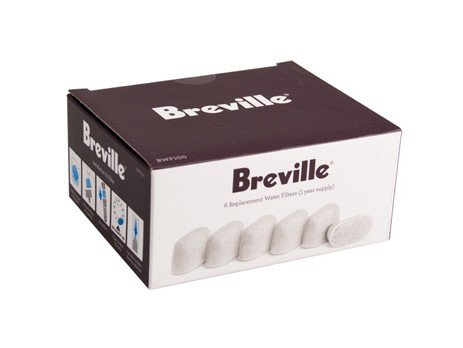 Breville BWF100 6-Pack Replacement Charcoal