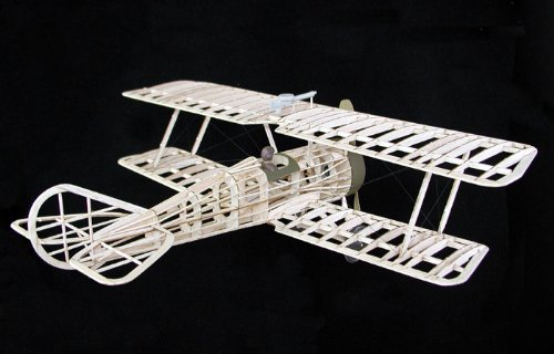 GUILLOW's Thomas Morse Scout 201 Powered Balsa Flying Model Kit