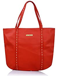 Caprese Fern Women's Tote Bag (Red)