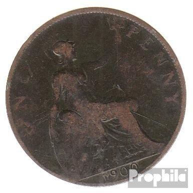 Großbritannien KM-Nr. : 790 1897 schön Bronze 1897 1 Penny Victoria (Münzen für Sammler)