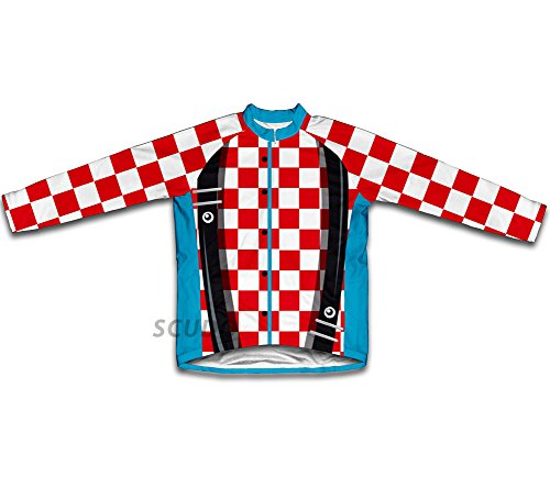 Rodeo Clown Long Sleeve Cycling Jersey for Men