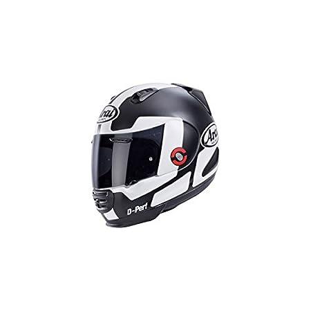 Nouveau 2015 REBEL perspective moto casque ARAI en noir/blanc