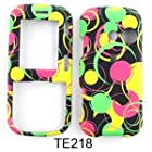 TEXTURE CASE FOR LG Rumor 2, Cosmos, Banter, Script HARD COVER CIRCLES TE218 Rumor 2, Cosmos, Banter, Script, LX265 Alltel, Sprint, Verizon, U.S Cellular, Virgin Mobile