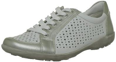 Remonte Liv, Baskets mode femme - Blanc (Silver/Weiss), 36 EU (3.5 UK) (5.5 US)