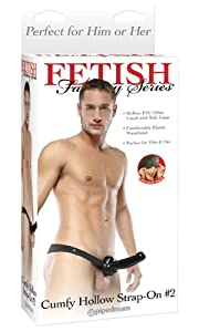 Pipedream Products Fetish Fantasy Series Cumfy Hollow Strap On 2 by Pipedream Products, inc