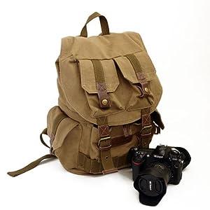 Koolertron Canvas Camera Backpack