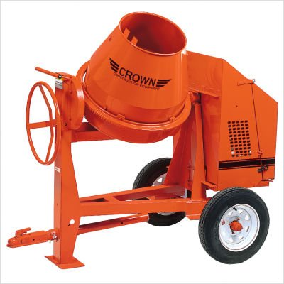 C6-CG5 - 6 cu ft Concrete Mixer - 5 HP Briggs Standard w/ Options