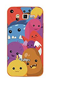 Happoz Samsung Galaxy J2 (J210) (2016) Cases Back Cover Mobile Pouches Shell Hard Plastic Graphic Armour Premium Printed Designer Cartoon Girl 3D Funky Fancy Slim Graffiti Imported Cute Colurful Stylish Boys D001