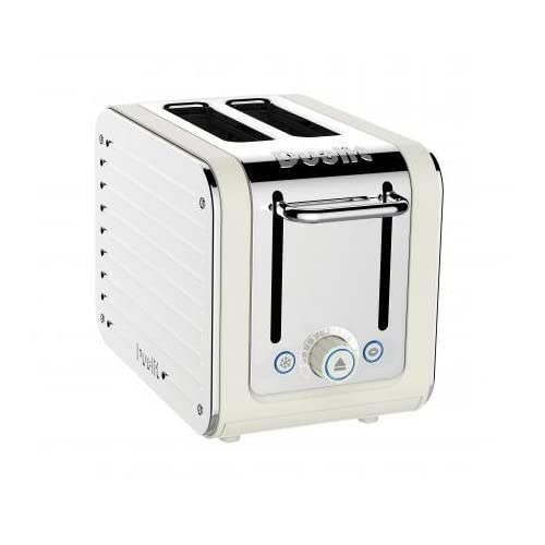 Dualit 2-Slot Toaster, Canvas White