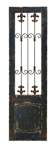 Benzara Wood Metal Wall Decor 57-Inch, 16-Inch Wall Decor 0