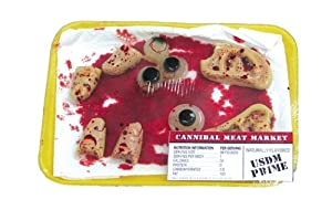 Eyes, Ears and Fingers Halloween Body Parts Meat Tray