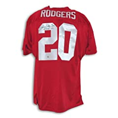 Johnny Rodgers Signed Jersey - with Heisman 72 Inscription - Autographed College...