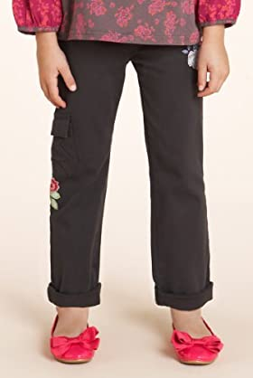 Autograph Cotton Rich Embroidered Combat Trousers