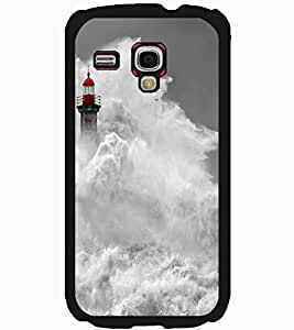 ColourCraft Beautiful Water Waves Design Back Case Cover for SAMSUNG GALAXY S3 MINI I8190