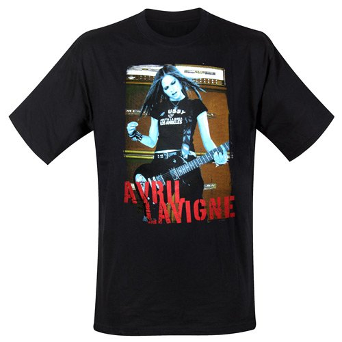 Avril Lavigne - T-Shirt Retro Photo (in L)