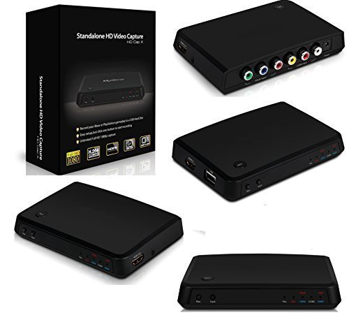 Acquisizione Video HDMI Game Capture Console Station HD Recorder Mac Apple PVR XBOX PlasyStation PS3 PS4 Game Play