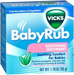 Similar product: VICKS BABY RUB 1.76 OZ